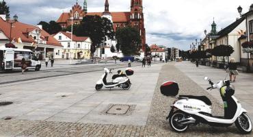Elektryczne skutery przejechały ponad 90 tys. kilometrów po Białymstoku