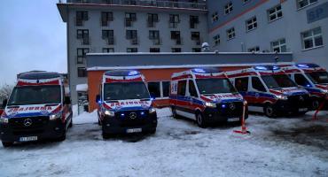 Nowe karetki będą służyły pacjentom z Białegostoku, Moniek i Sokółki