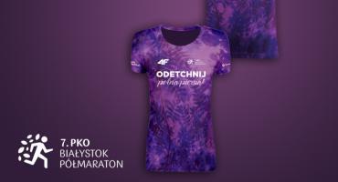 Tak wygląda projekt koszulki 7. PKO Białystok Półmaraton