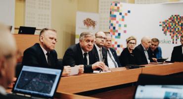 O Rail Baltice i jej przebiegu rozmawiano długie godziny