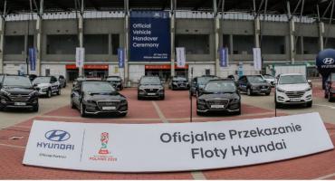 Hyundai wspiera mistrzostwa świata. Na potrzeby turnieju przekaże ponad 100 samochodów