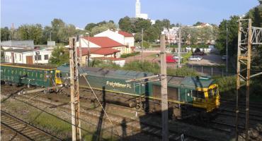 Podwoiła się liczba kolejowych przewozów transportowych