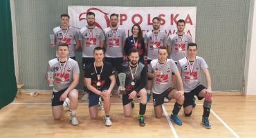Amatorska drużyna piłki siatkowej z Białegostoku wywalczyła tytuł wicemistrza