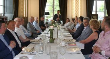 Przedsiębiorcy z klastra budowalnego spotkali się z ministrem przedsiębiorczości
