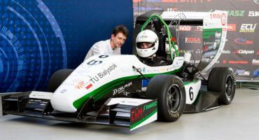 Bolid Politechniki Białostockiej dotarł na Węgry i bierze udział w zawodach