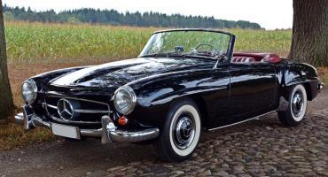 Mercedes to najczęściej spotykana marka zabytkowych aut na polskich drogach