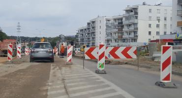 Ulica Aleja 1000-lecia Państwa Polskiego wciąż rozkopana