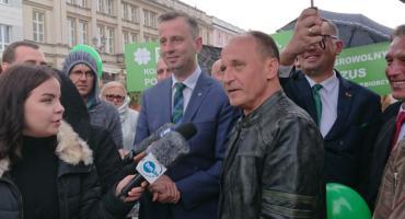 Kukiz i Kosiniak-Kamysz w Białymstoku. Chcą naprawić Polskę