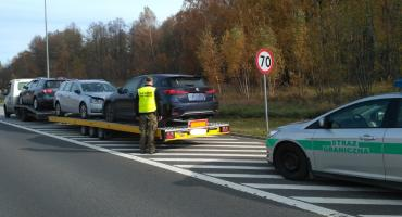 Pogranicznicy w weekend odnaleźli skradzione samochody warte łącznie 275 tys. złotych