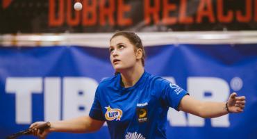 Białostoczanki pokonały swoje rywalki z Łomży w tenisie stołowym