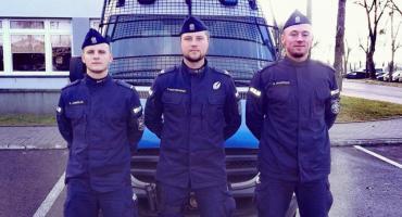 Policjanci uratowali młodego mężczyznę przed śmiercią samobójczą