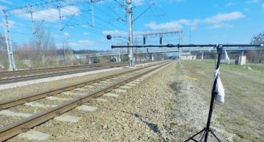 Spółka kolejowa bada poziom hałasu w ruchu kolejowym