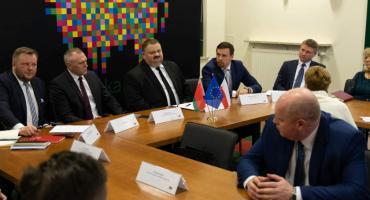 Delegacja z Białorusi gości w naszym regionie. Rozmawiano o współpracy turystycznej