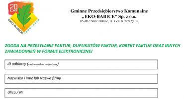 E-FAKTURA W GPK