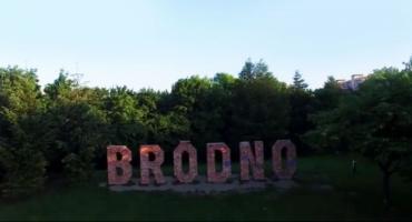 Film - Park Bródnowski z lotu ptaka