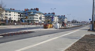Zmiany na ulicy Łodygowej. Ukończenie remontu zbliża się wielkimi krokami