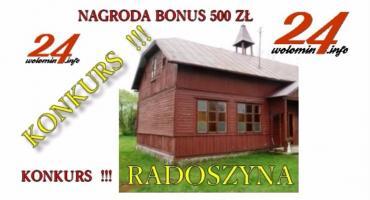 KONKURS - BONUS 500 ZŁ