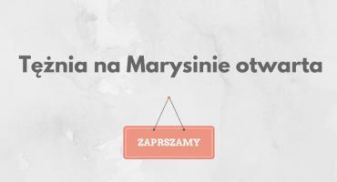 Tężnia na Marysinie otwarta!