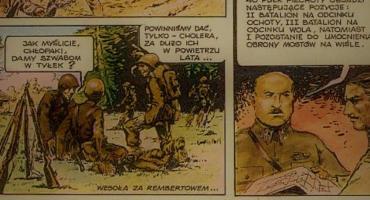 Wzmianka o Rembertowie w komiksie z końca lat siedemdziesiątych
