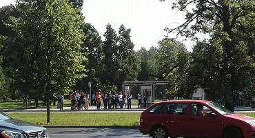 Skandal na ulicach Warszawy