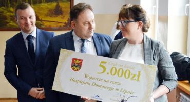 Wsparli domowe hospicjum w Lipnie