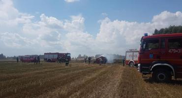 Uwaga rolnicy! Płoną zboża i maszyny