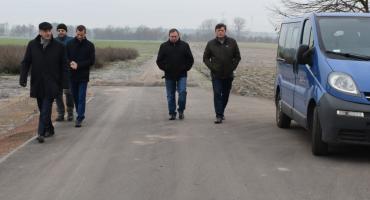 Droga w Grochowalsku wreszcie wyremontowana