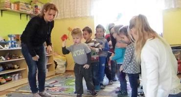 Spotkanie edukacyjne w przedszkolu