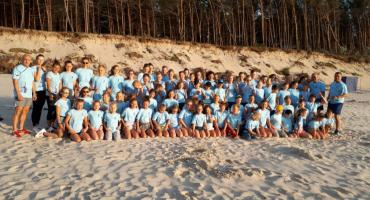 Karatecy na obozie