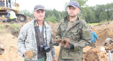 Znaleźli poniemiecki czołg w Chrostkowie