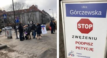 Radni PiS zbierają podpisy:,,Nie zwężajcie Górczewskiej