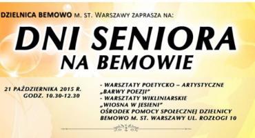 Dni Seniora – warsztaty