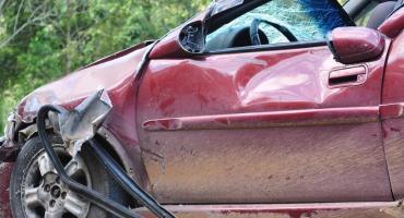 Zderzenie samochodów przy Jagiellońskiej. Ranna jedna osoba