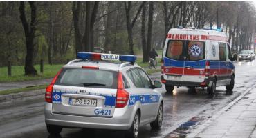 Wypadek karetki przy Dworcu Wileńskim