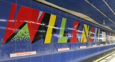 Połączenie metra: zmiany na linii M2. Dworzec Wileński będzie zamknięty