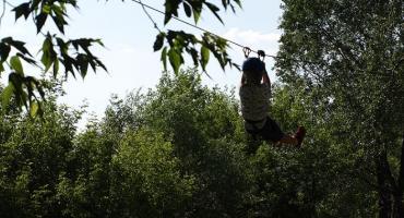 Park linowy nad Wisłą