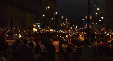 Krakowskie Przedmieście – kolejny dzień protestów