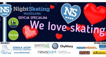 W Walentynki powraca Nightskating Warszawa