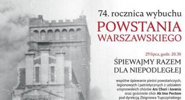 74. rocznica powstania warszawskiego [PROGRAM UROCZYSTOŚCI]
