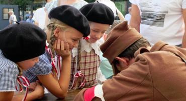 Lekcja historii na Zieleniaku