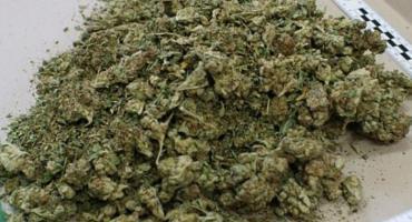 Przyłapany z marihuaną