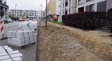 Przebudowy dróg przy ulicach Kieślowskiego i Hlonda