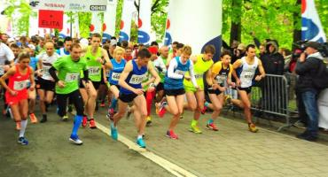 Bieg Erasmusa w Parku Szymańskiego