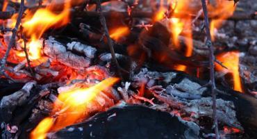 Pożar w kamienicy na Odolanach