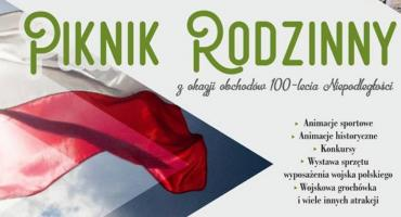 Sztafeta Niepodległości i Piknik Rodzinny w Parku Szymańskiego