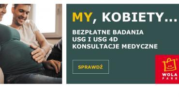 Bezpłatne badania USG 4D, konsultacje medyczne dla przyszłych mam w Wola Parku w dniach 27/28 kwietnia