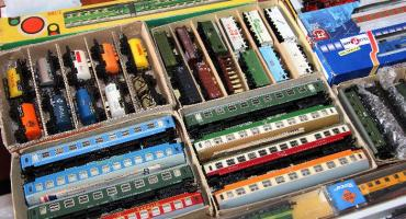 Giełda modeli kolejowych w Muzeum Kolejnictwa
