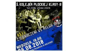 26.08.2018 Stadion Bulkowo mecz Zjednoczeni - Relax