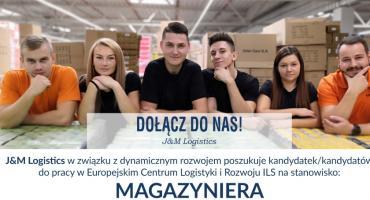 J&M Logistics poszukuje kandydatek/kandydatów do pracy w Europejskim Centrum Logistyki i Rozwoju ILS