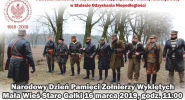 Żołnierze Wyklęcia - Stare Gałki 16 marca godz 11,00
